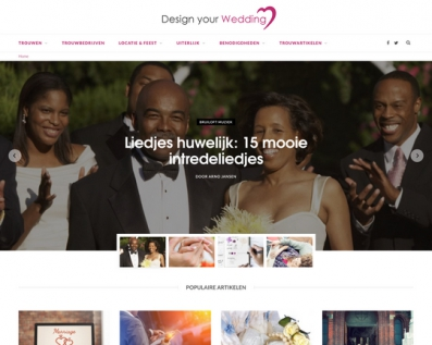 Design your wedding