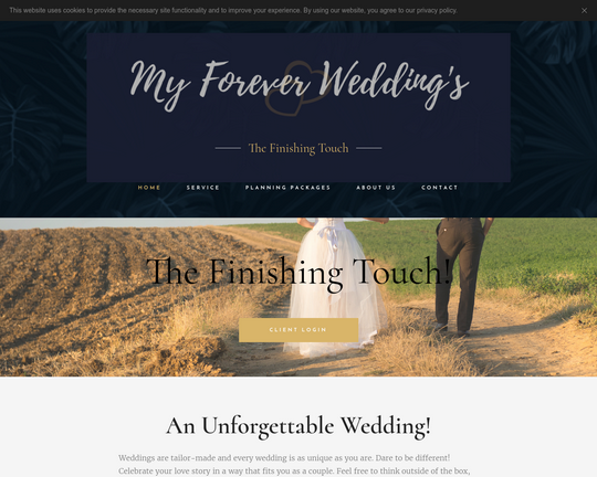 My Forever Weddings Logo