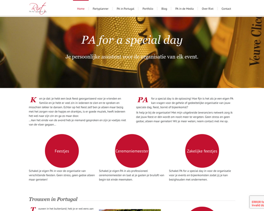 PA for a Special Day Logo