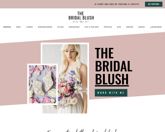 The Bridal Blush Logo